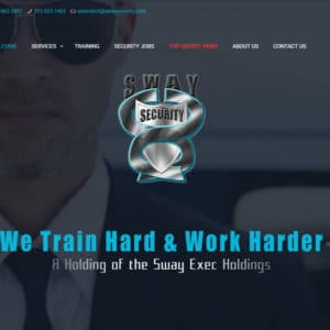 SwaySecurity - New Project - WebDesignHeaven